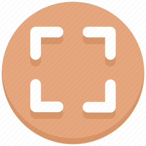 expand, interface, page, user icon