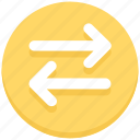 arrows, interface, left, right, transaction, user icon