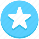 bookmark, favorite, interface, star, user icon