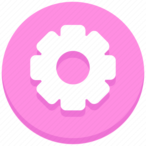 cogwheel, gear, interface, settings, user icon