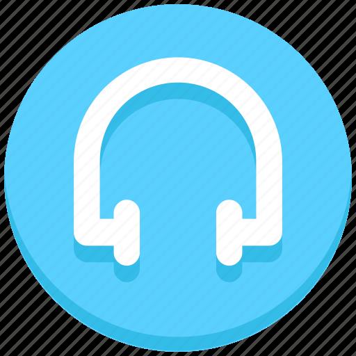earphone, headphone, interface, music, user icon