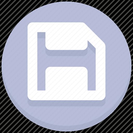 disk, floppy, interface, save, storage, user icon