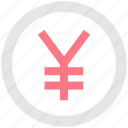 coin, currency, money, user interface, yen