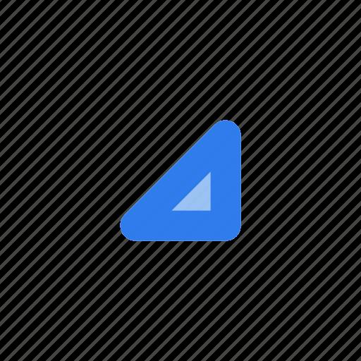 arrow, chevron, down, interface, right, user, web icon