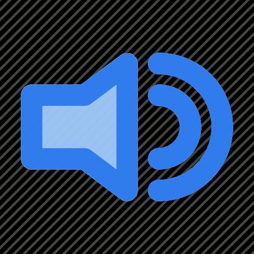 audio, interface, sound, speaker, ui, user, volume icon