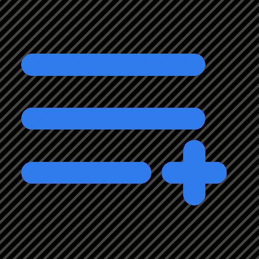 interface, list, menu, options, ui, user icon
