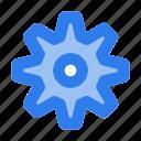 app, gear, interface, option, setting, ui, user icon
