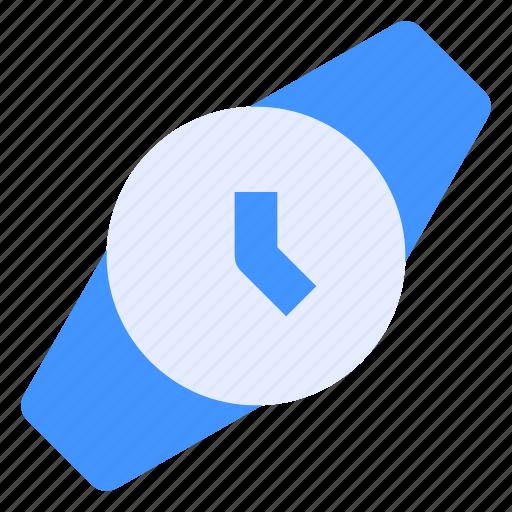 Clock, fashion, interface, time, watch, wrist, wristwatch icon - Download on Iconfinder