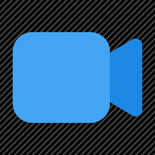camera, interface, media, record, ui, user, video icon