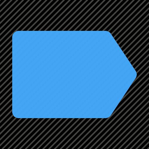 app, interface, label, tag, ui, user, web icon