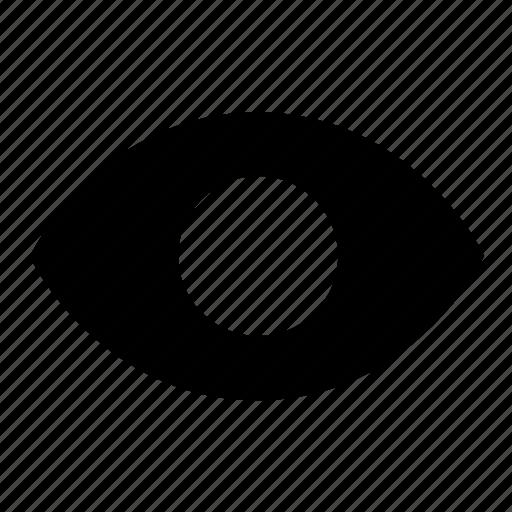 eye, ui, view, visibility icon