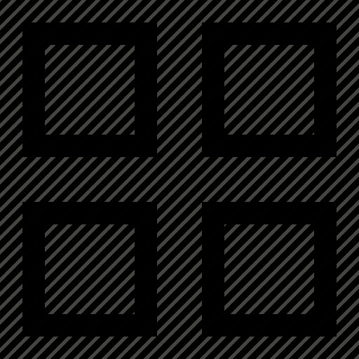 apps, grid, layout, menu, ui icon