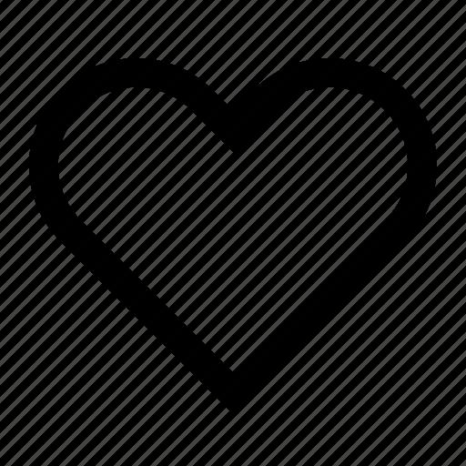 heart, like, love, romantic, ui icon