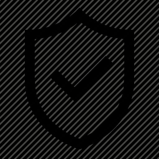 check, protection, shield, success, ui icon