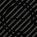 hide, minus, remove, sign, subtract icon