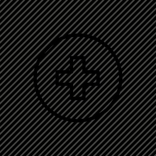Health, plus, add, healthcare, hospital, medical, medicine icon - Download on Iconfinder