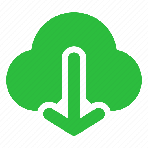 cloud, document, download, downloads, file, save icon