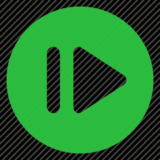 media, multimedia, music, next, player, sound, video icon