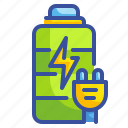 battery, charge, interface, plugin, power, tool icon