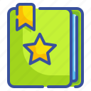 address, agenda, book, bookmarks, business, interface, notebook icon