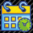 administration, calendar, date, interface, organization, schedule, time