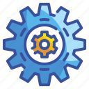 cogwheel, configuration, gears, industry, interface, settings, wheels icon