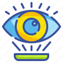 eye, interface, optic, optical, view, visible, vision icon
