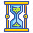 clock, hourglass, interface, sand, time, waiting