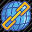 chain, interface, internet, link, world, worldwide