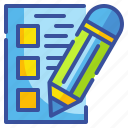 app, basic, edit, interface, note, paper, pencil icon
