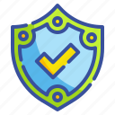 interface, technology, security, shield, protection, weapons, defense icon