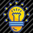 bulb, creativity, interface, light, lightbulb
