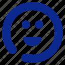 emoticon, fun, smile icon