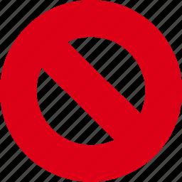alert, ban, no, problem, sign, stop, warning icon