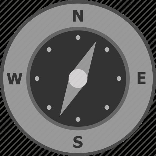 compass, direction, gps, map, navigate, navigation, safari icon