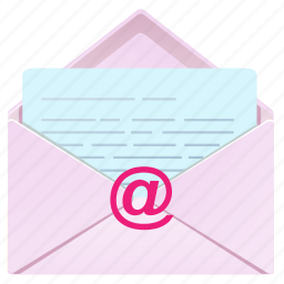 chat, email, envelope, letter, mail, message, open icon