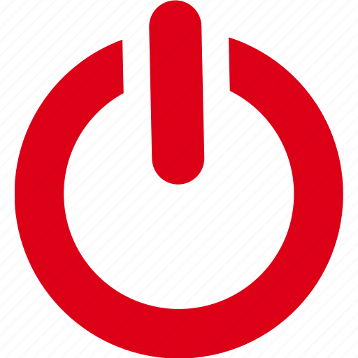 electric, off, on, power, shut down, start, switch icon