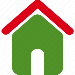 building, estate, green, home, homepage, house, real icon