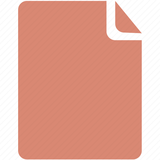 document, extension, file, page, paper, sheet, text icon