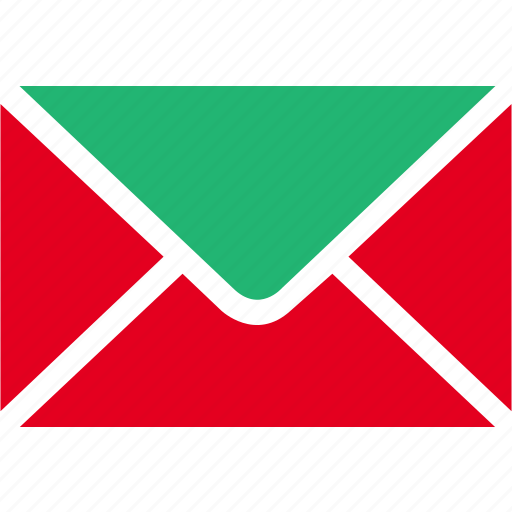 email, envelope, green, letter, mail, message, talk icon