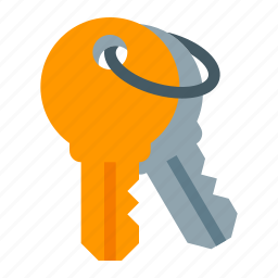 access, key, keychain, lock, security icon