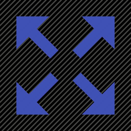 arrows, expand, full, fullscreen, maximize icon