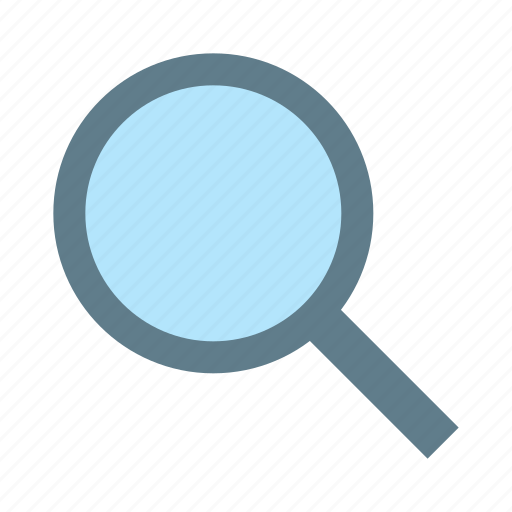 detect, find, glass, magnifier, research, search icon