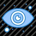 eye, eyeball, view icon