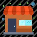 market, shop, store icon