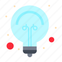 bulb, idea, light, tips icon