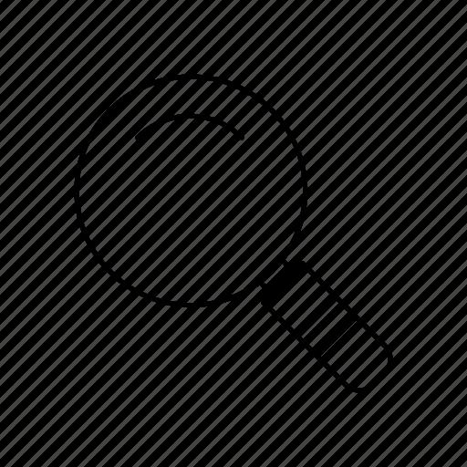 explore, magnify, search, view, zoom icon
