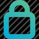closed, lock, secure