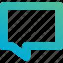 bubble, chat, message