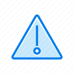 attention, danger, warning icon